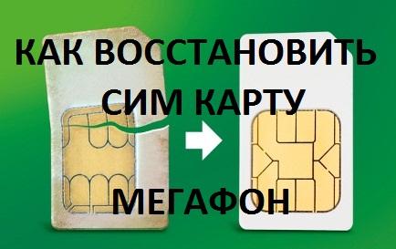 сим карта фото мегафон